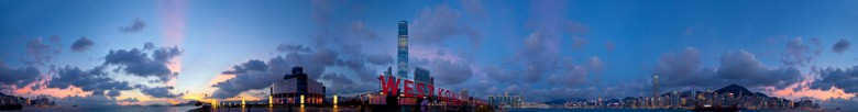 360 Degree Panorama, West Kowloon