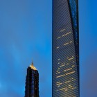 Aligning up Shanghai 3 tallest Buildings, the angle was found when traveling inside a taxi