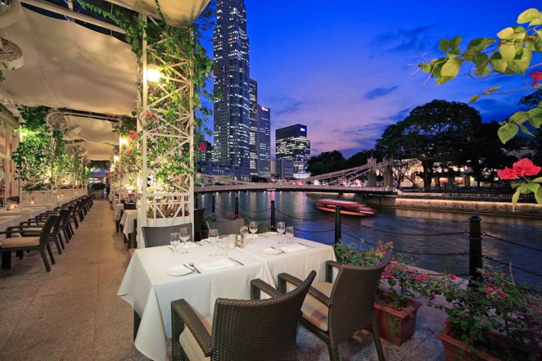 Town Restaurant, Fullerton Hotel Singapore 1